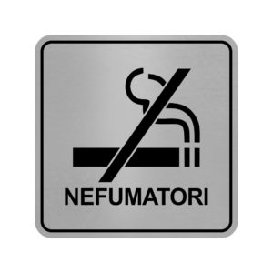 placuta nefumatori