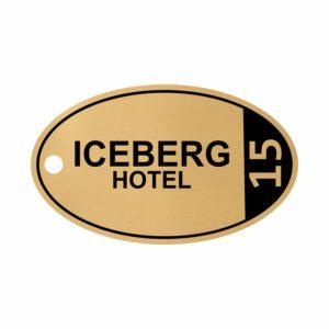 breloc personalizat hotel