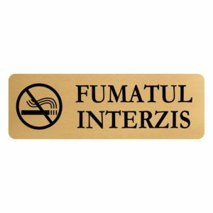 placuta fumat interzis