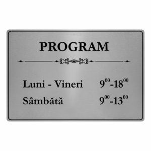 placuta program