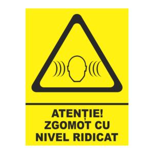 indicator zgomot cu nivel ridicat