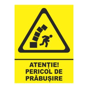 indicator pericol de prabusire