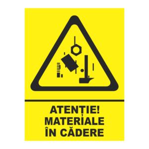 indicator materiale in cadere
