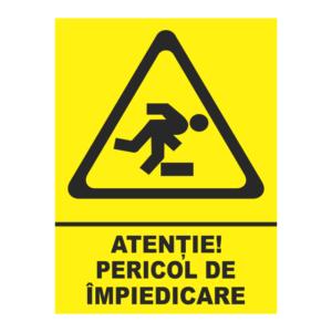 indicator pericol de impiedicare