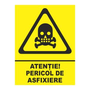 indicator pericol de asfixiere