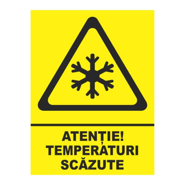 indicator temperaturi scazute