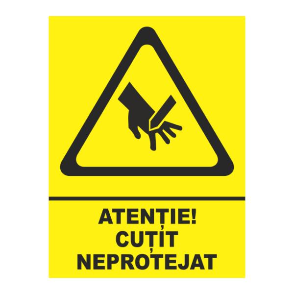 indicator cutit neprotejat