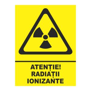 indicator radiatii ionizante