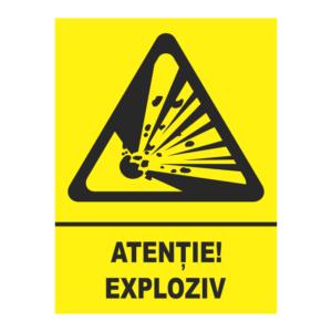 indicator exploziv