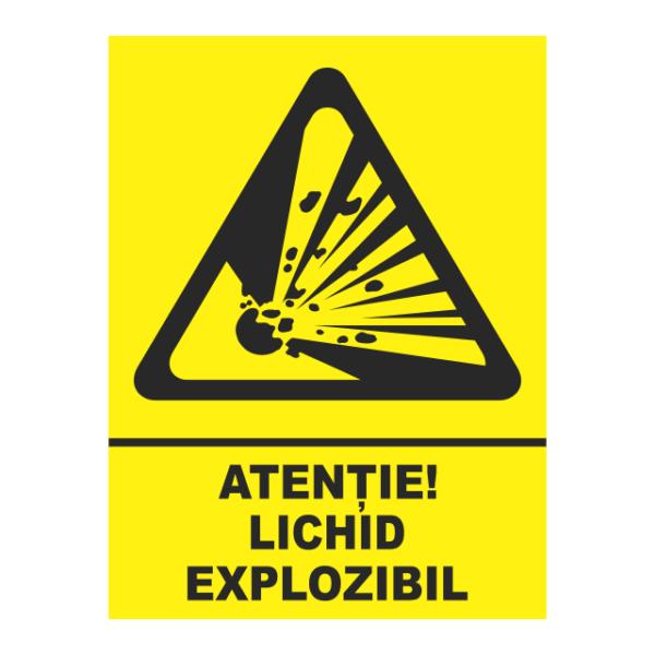 indicator lichid explozibil