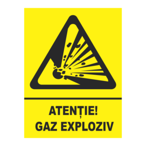 indicator gaz exploziv