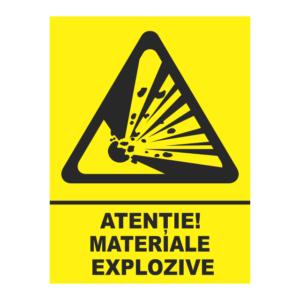 indicator materiale explozive