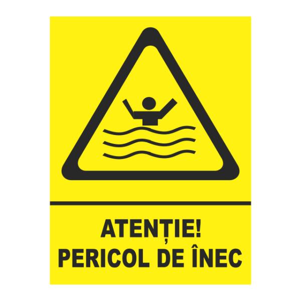 indicator pericol de inec