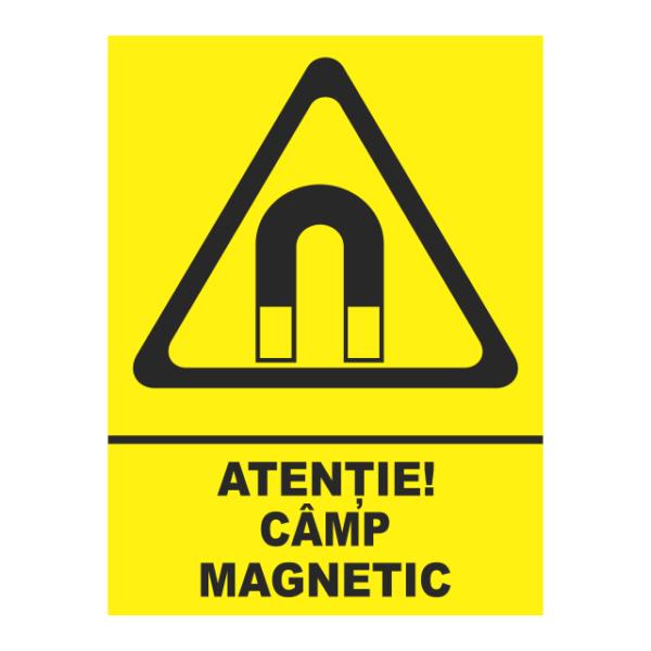 indicator atentie camp magnetic