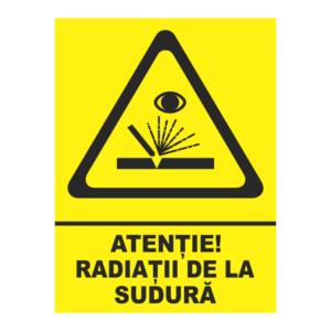 indicator radiatii de la sudura