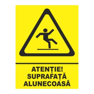 indicator suprafata alunecoasa