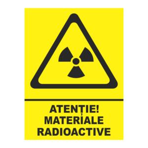 indicator materiale radioactive