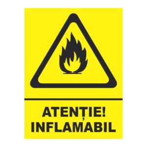 indicator inflamabil