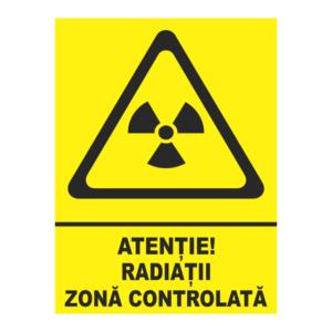 indicator radiatii zona controlata