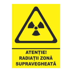 indicator radiatii zona supravegheata