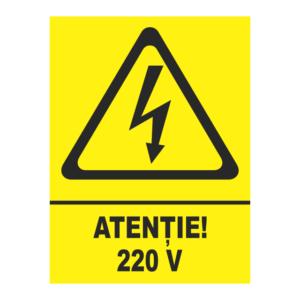 indicator atentie 220 v
