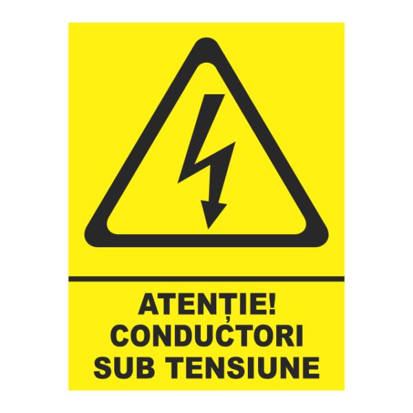 indicator conductori sub tensiune