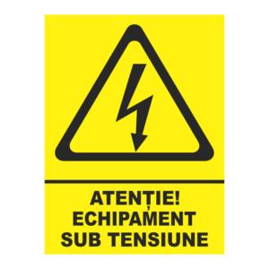 indicator echipament sub tensiune