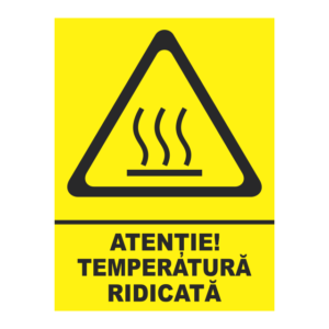 indicator temperatura ridicata