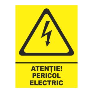 indicator pericol electric