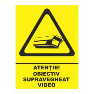 indicator obiectiv supravegheat video
