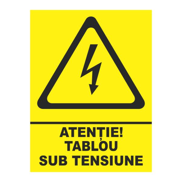 indicator tablou sub tensiune