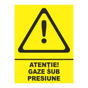 indicator gaze sub presiune