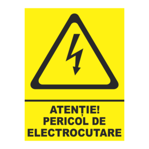 indicator pericol de electrocutare