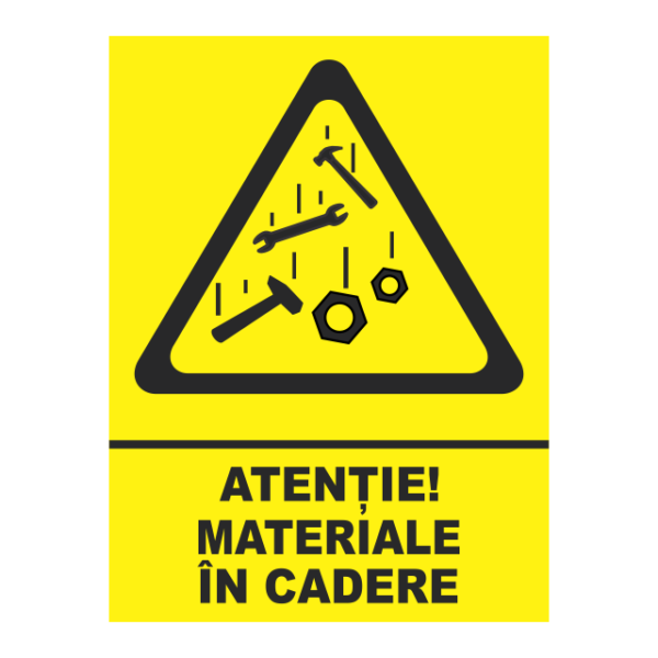 indicator materiale in cadere