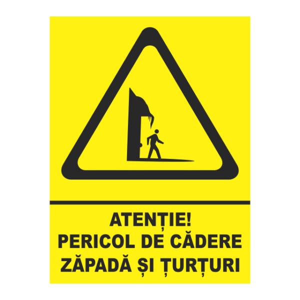 indicator pericol de cadere