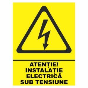indicator instalatie electrica sub tensiune