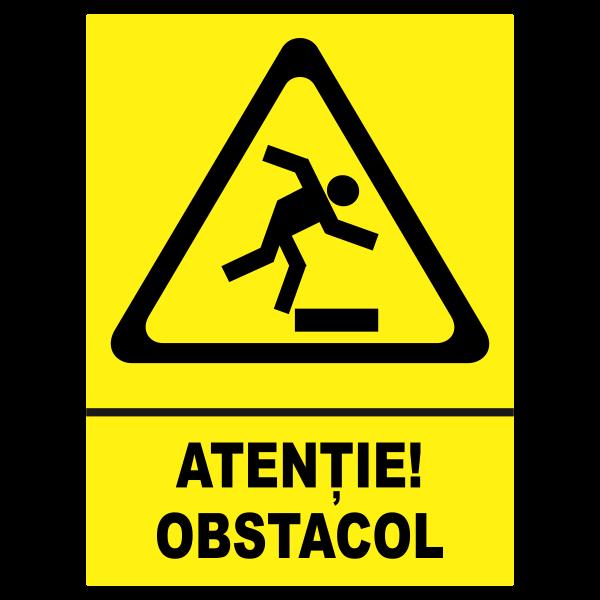 indicator obstacol