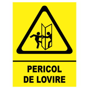 indicator pericol lovire