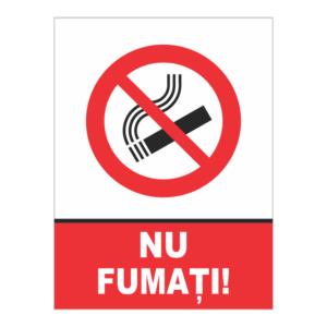 indicator nu fumati