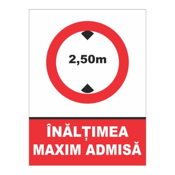 indicator inaltime maxima