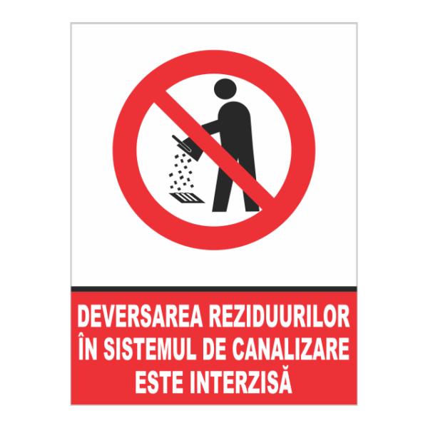 indicator devansarea reziduurilor interzisa