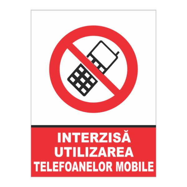 indicator interzisa utilizarea telefoanelor mobile
