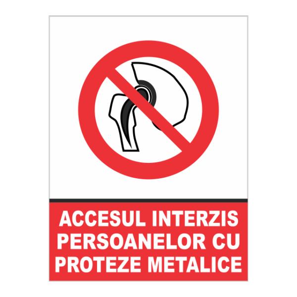 indicator proteze metalice