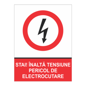indicator inalta tensiune electrocutare