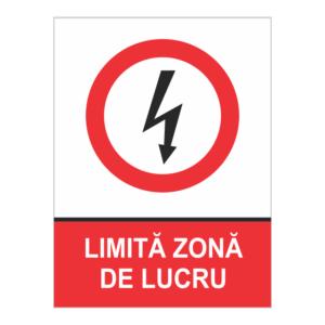 indicator limita zona de lucru