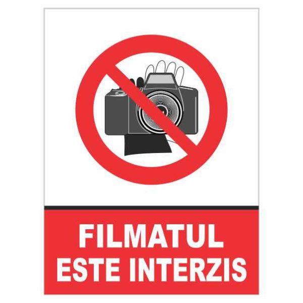 indicator filmat interzis
