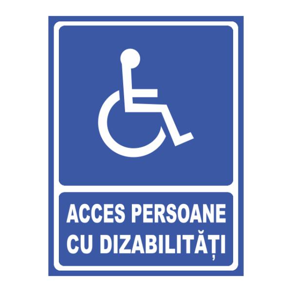 indicator acces persoane dizabilitati