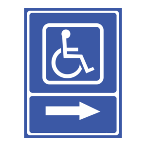 indicator toaleta disabilitati