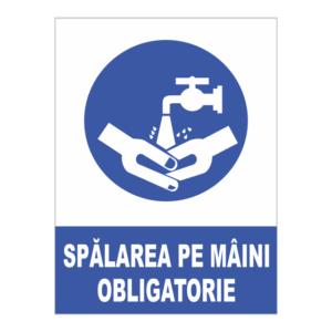 indicator spalare pe maini