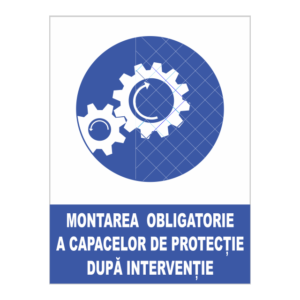 indicator montare capace protectie